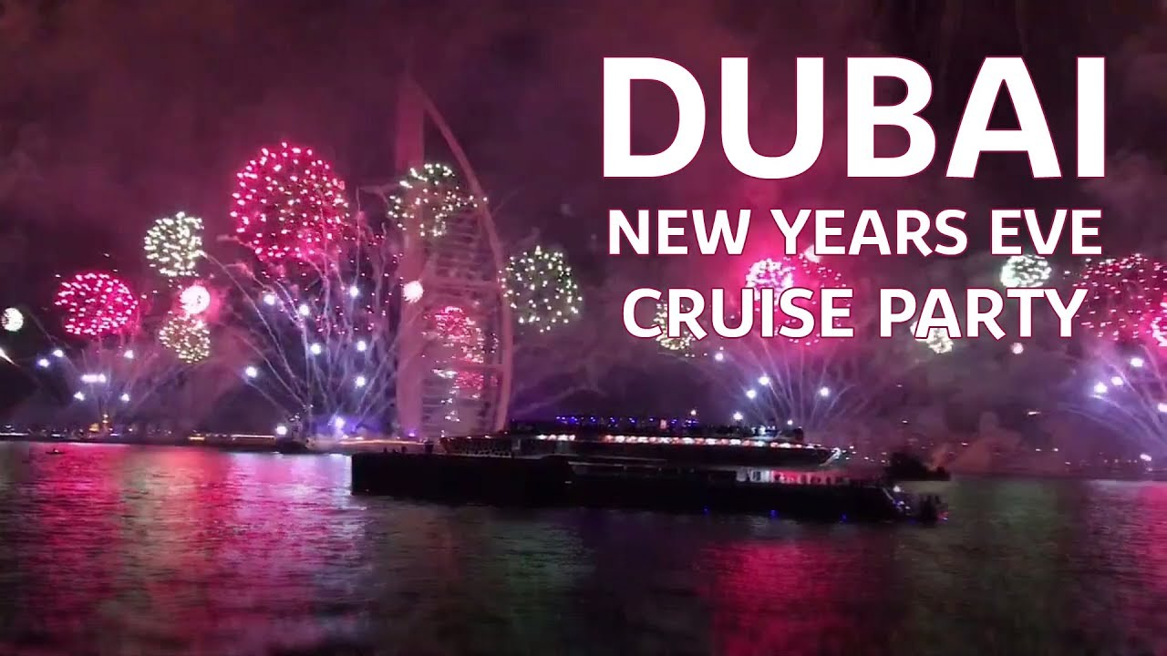 Dive into 2021 with the best New Year's Eve yacht and cruise in Dubai
