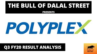 Polyplex Corporation | Result Analysis | Q3 FY20 | Stock Market