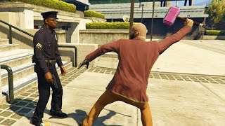 GTA 5 Crazy Life Compilation -- (GTA V PC Gameplay Funny Moments)