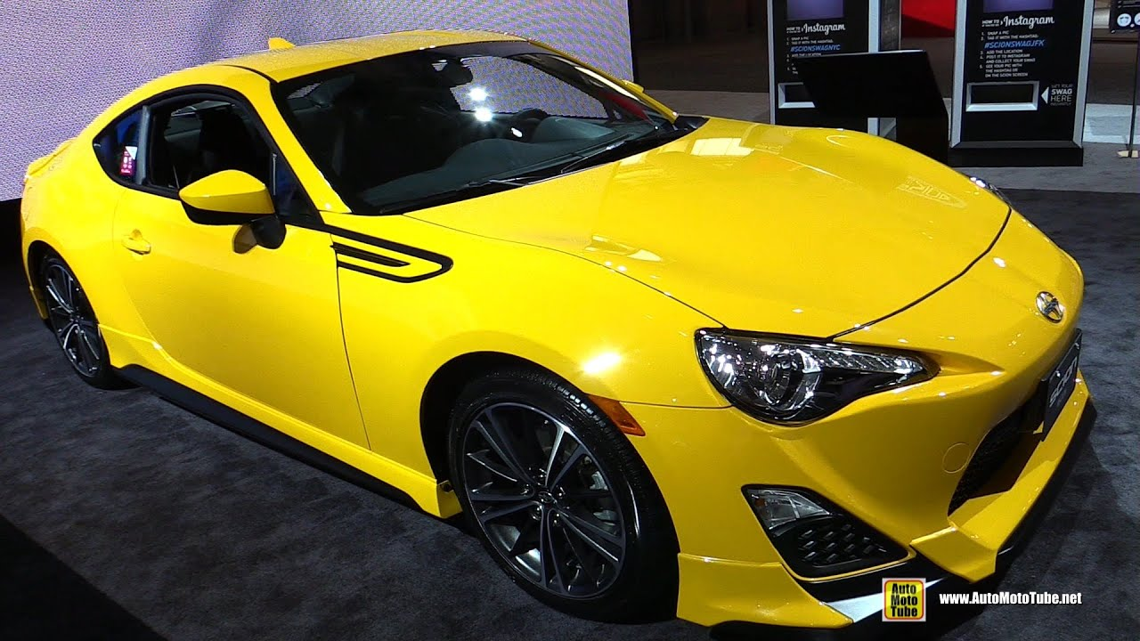 2015 scion fr s release series 1 0 exterior and interior walkaround 2015 new york auto show. Black Bedroom Furniture Sets. Home Design Ideas