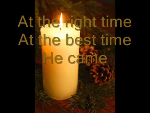At The Right Time - Booth Brothers (Worship Video with Lyrics).wmv