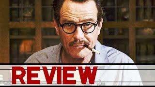 TRUMBO Trailer Deutsch German & Review (HD) | Bryan Cranston Biografie