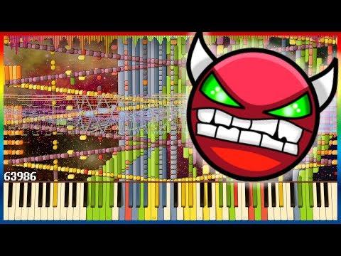 Dimrain47 - Surface | Impossible Piano Remix | Black MIDI ~ MusiMasta