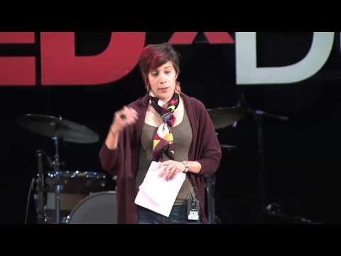 TEDxDU Morehshin Allahyari -- Collaborative art in countries of conflict