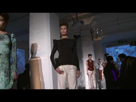 Daniel Vosovic Fall/WInter New York Fashion Week 2010 Interview and Presentation