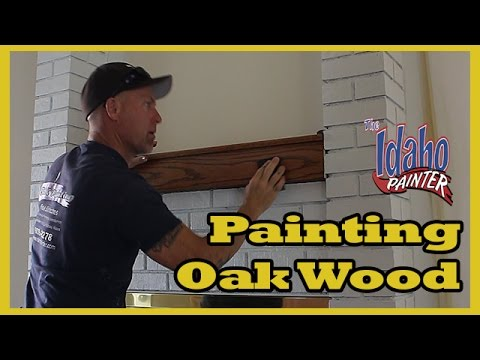 How To Paint Grainy Wood. Using Grain Fillers To Paint Oak Cabinets.  Woodworking Tips.