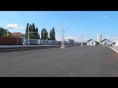 SŽ 664 & SŽ 363 Freight Train In Murska Sobota