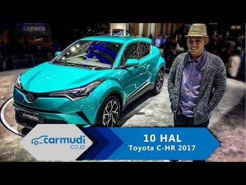 Toyota C-HR 2017 Indonesia - 10 HAL yang Perlu Diketahui