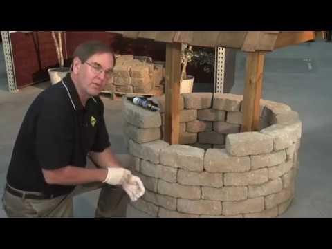 Adhering Pavers And Blocks Using Sakrete Concrete Adhesive Youtube
