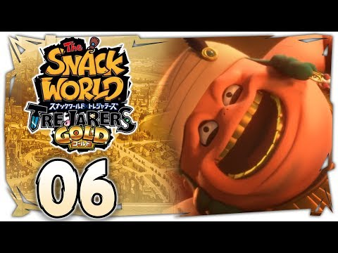 The Snack World: Trejarers Gold | King Oyster City! [Chapter 6 on Nintendo Switch]