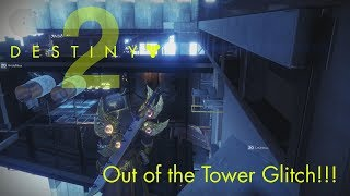 Destiny 2 - Tower Glitches and Spots