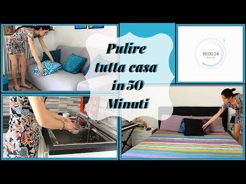 Come PULIRE tutta casa in 50 MINUTI | Giulia Pollon