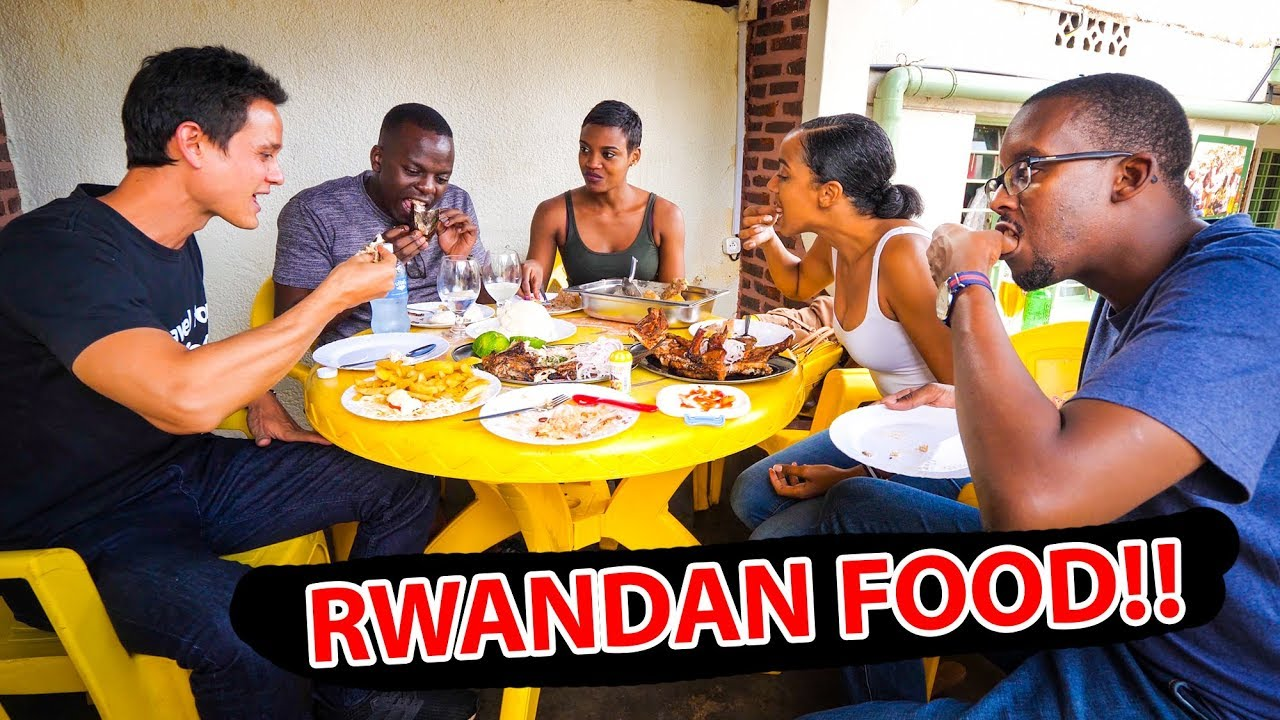 Rwandan Food Tour - MERCEDES BENZ of MEAT in Kigali, Rwanda! | African Food Tour!