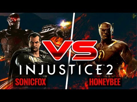 SonicFox vs HoneyBee: Injustice 2 War of the Gods Week 1