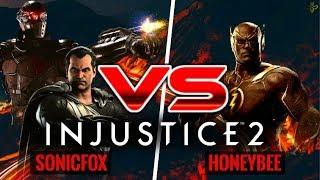 SonicFox vs HoneyBee: Injustice 2 War of the Gods Week 1