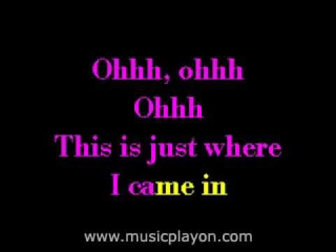 Bee Gees - This Is Where I Came In Karaoke