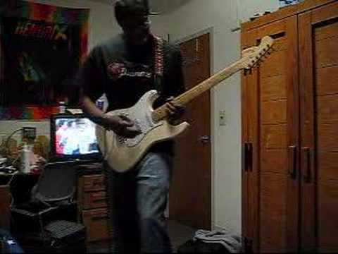 Burning Of The Midnight Lamp  Jimi Hendrix Cover By Tony B