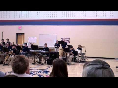 Brookwood Middle School (Genoa City, WI) Jazz Band - Brazilian Nights 11/7/12