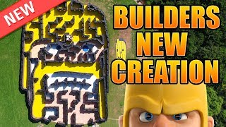 Builders NEWEST CREATIONS - Real Life Clash of Clans Maze | New CoC Building - Maze Base Real Life!