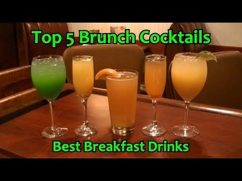 Top 5 Brunch Cocktails Best Breakfast Drinks