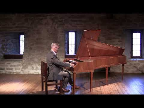 J.S.Bach Prelude in C minor BWV999,  Ricercar a 3 BWV 1079, Ivo Sillamaa,Fortepiano.