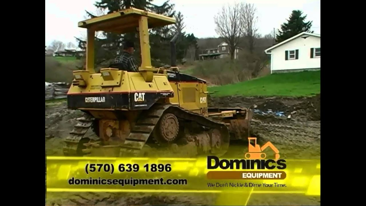 dominic u0027s equipment rental wnep channel 16 tv commercial youtube