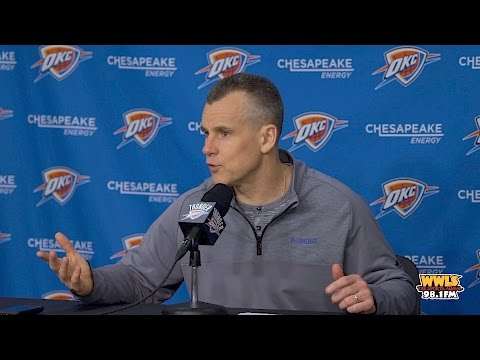 Billy Donovan Discusses Win Over Spurs