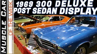 1969 Chevelle 300 Deluxe Post Sedans at 2019 MCACN - Muscle Car Of The Week Video Episode 347