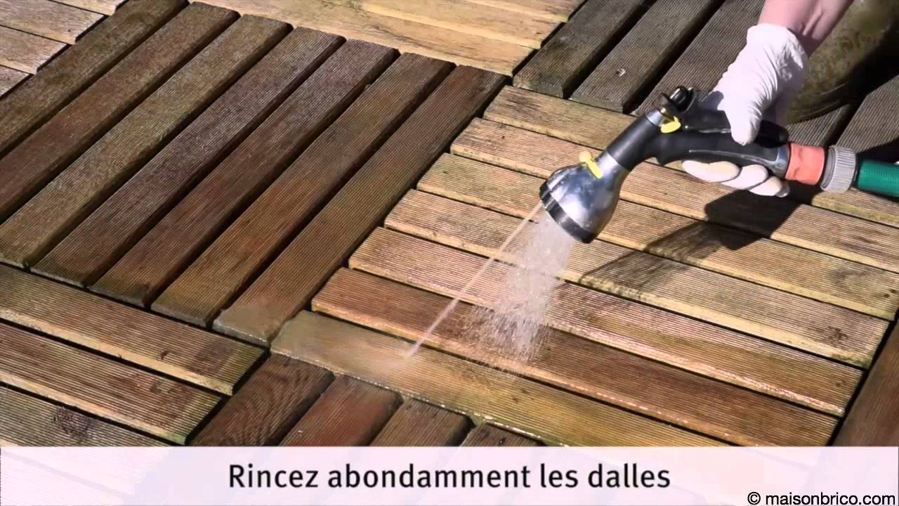 entretenir une terrasse en dalles de caillebotis youtube. Black Bedroom Furniture Sets. Home Design Ideas