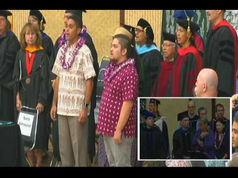 UH Hilo Commencement - Fall 2016