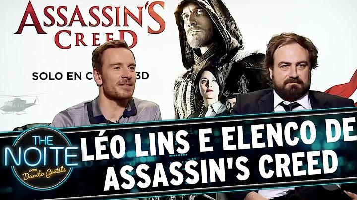 lo lins conversa com elenco de assassins creed  the noite 261216