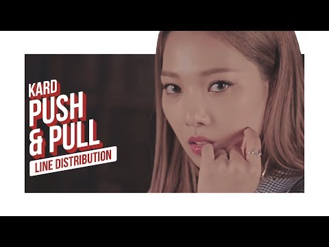 KARD - Push & Pull Line Distribution (Color Coded)