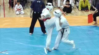 第31回福島県高等学校空手道選手権大会 中量級決勝戦