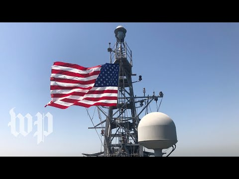 Look Inside A U.S. Ship Patrolling The Strategic Persian Gulf