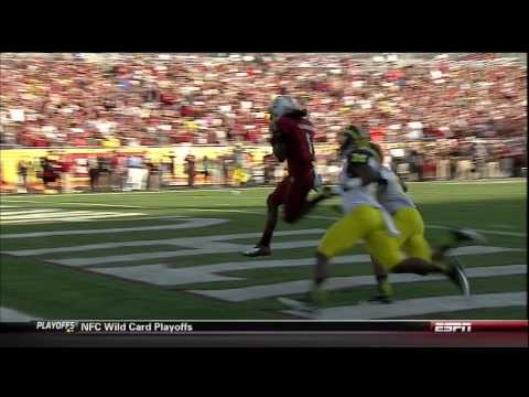 2013 USC vs Michigan - Ace Sanders 31 Yd Touchdown Reception