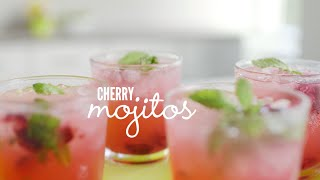 How To Make A Cherry Mojito