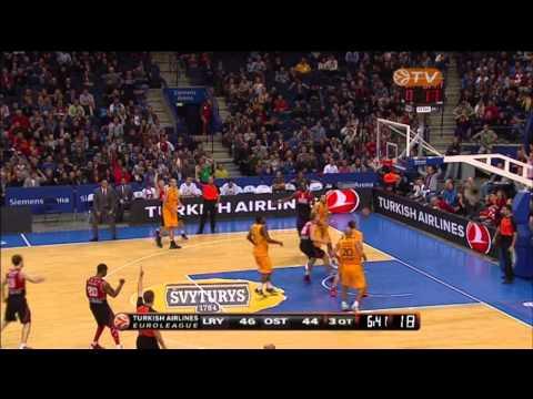 Highlights: Lietuvos rytas-Telenet Oostende 75-66
