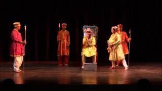 ANDHER NAGARI CHAUPAT RAJA by the students of K.R Mangalam World School @ Theatre Festival 2015
