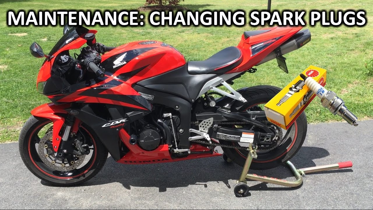 How To Change Spark Plugs On 2008 Cbr600rr