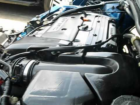 2003 CIVIC SI ENGINE TEST RUN