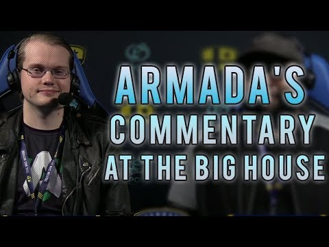 Armada's commentary at The Big House 8