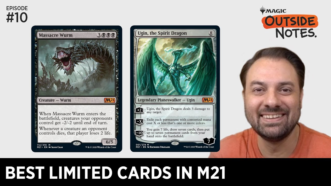 Best Limited Cards in M21 | Outside Notes | Ep. 10