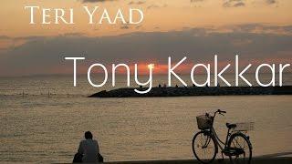 Teri Yaad - Tony Kakkar (Lyrics Video)