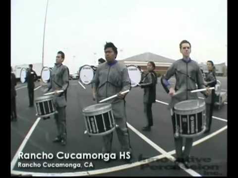 Rancho Cucamonga Drumline 2011 Book 1