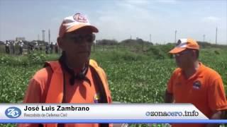 Rescatan en Villanueva a la menor arrastrada por el arroyo de la 21