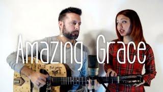 amazing grace dario pinelli ft federica caroppa acoustic guitar version