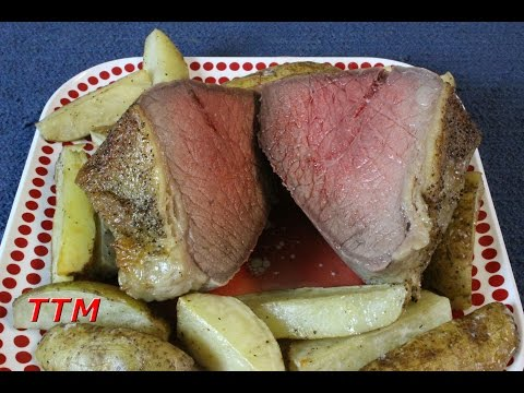 How To Brine And Cook Rump Or Bottom Round Beef Roast In The Oven