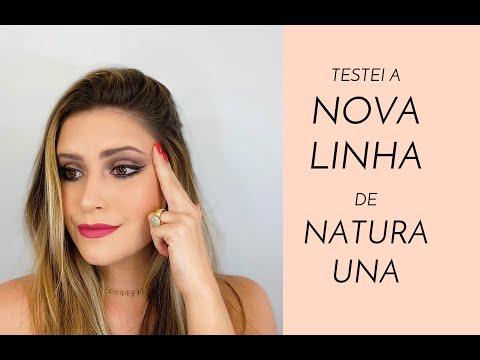 TESTANDO A NOVA LINHA DE NATURA UNA