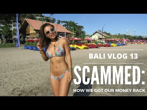 Bali Vlog 13: Money Changer SCAM  How we got our money back!