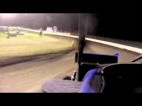 Ryan Leavitt in-car camera English Creek Speedway 5/17/13